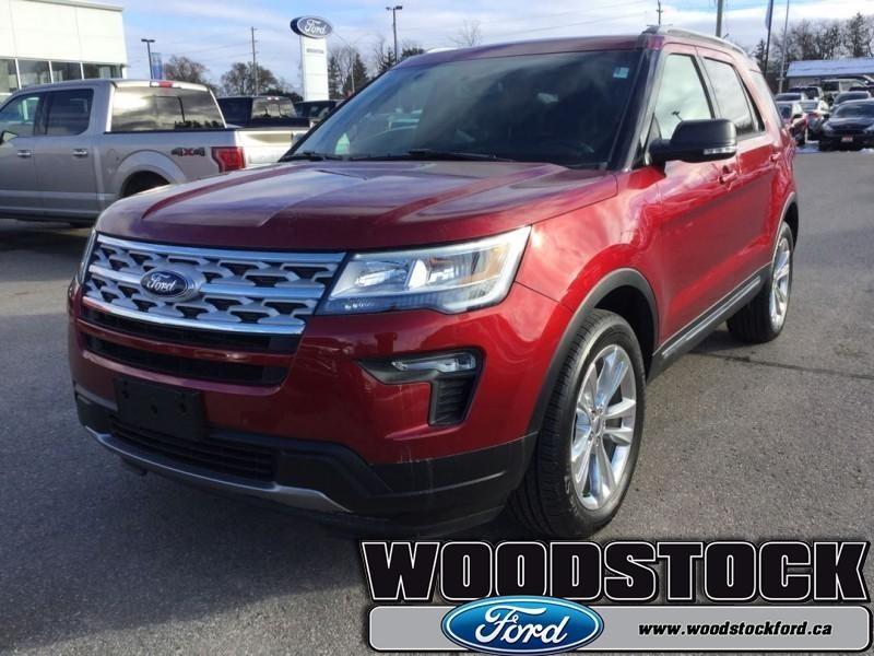 2019 Ford Explorer Xlt 202a Xlt Moonroof