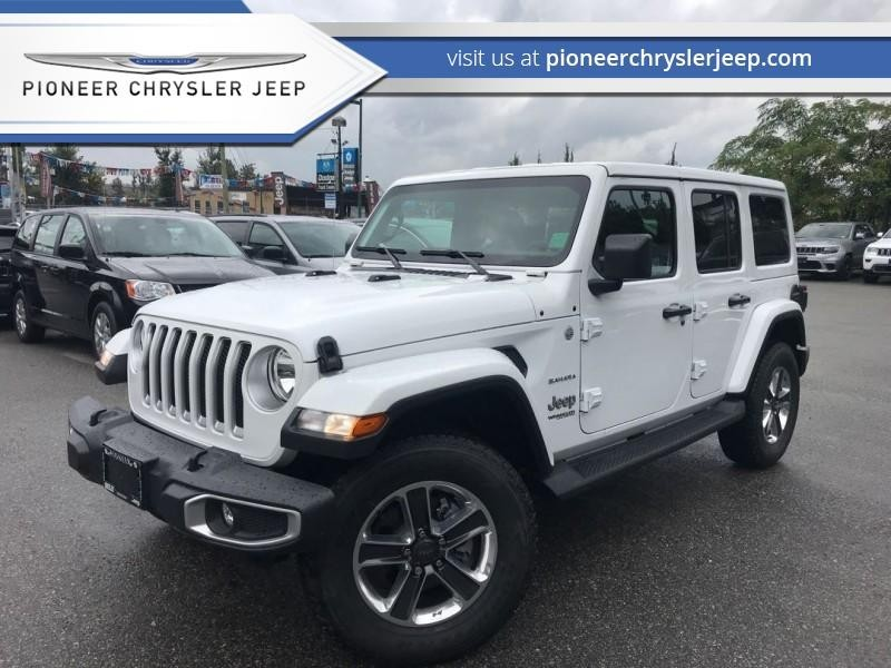 2018 Jeep Wrangler Unlimited Sahara 4x4   Safety Group AWD